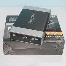 """Boîtier de boîtier Portable USB 3.0 et ESATA vers SATA en alliage externe pour graveur CD DVD ROM 5.25"""""""
