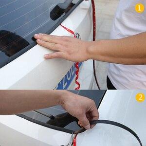 Image 4 - Car Seal Strips Y Shape Window Gap Sealing Waterproof Dust proof Sound Insulation Sealed Strip Windshield Rubber Sealing For Car
