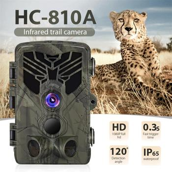 HC-810A Outdoor Hunting Camera Scouting Trail Camera 1080P 16MP PIR Motion Night Vision 120 Degree Angle Wild Camera