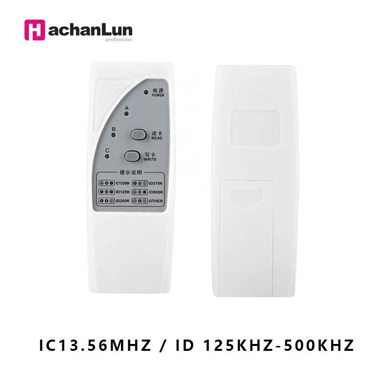 RFID NFC Smart Chip Card Keychain 125khz-13.56mhz Handheld Reader Writer Replicator ID IC Access Control Card Duplicator