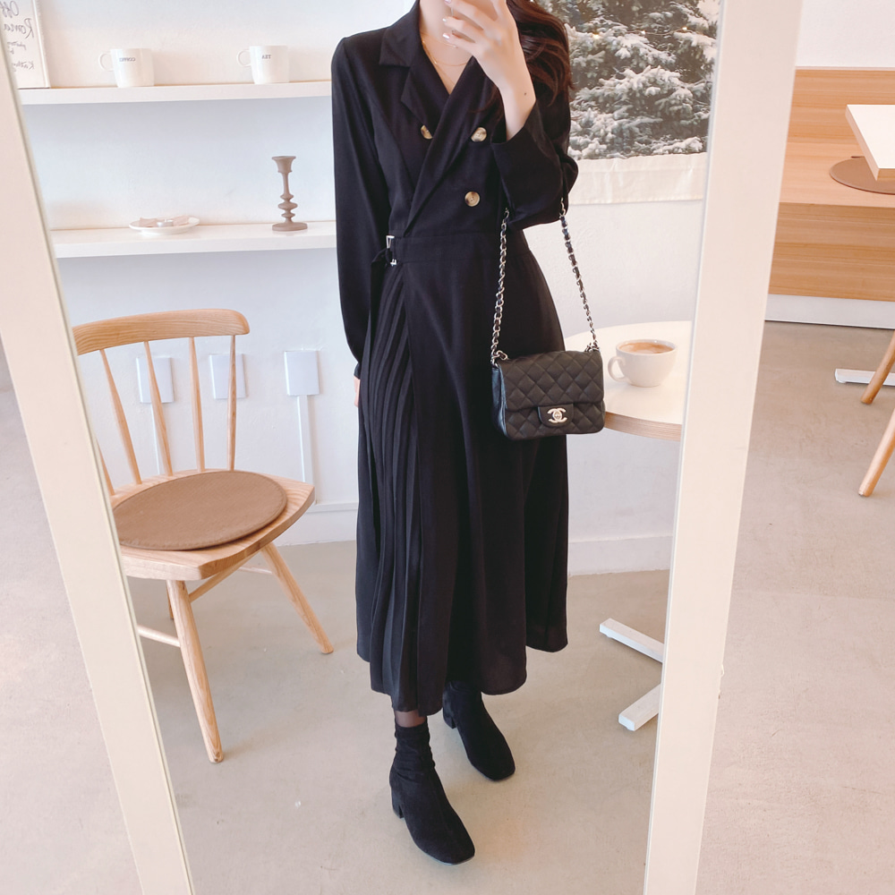 New S XL Plus Size New Pleated Spring Femme Dress Girls Female Vintage Dress Long Sleeve Women Dresses Long Shirt Robe Vestido