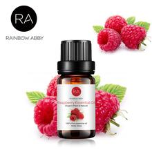 10ml Water-soluble Flower Fruit Raspberry Essential Oil For Aromatherapy Organic Essential Oil Relieve Body Stress Skin Care цена и фото