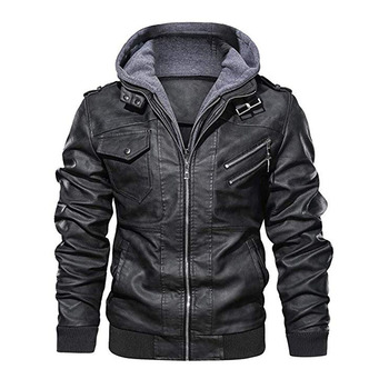 Autumn Men Faux Leather Jackets Coat Oversize Zipper Motorcycle PU Jacket Mens Brand Military Outwear Long Sleeve Winter Coats jaycosin women jackets coats autumn winter fashion slim long sleeve leather coat short jacket with pockets casual outwear 1011