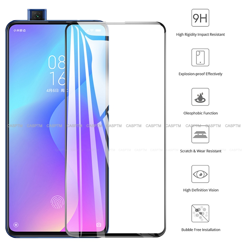 For Redmi Note 7 Pro K20 K20 Pro Hard Front Glass Film For Xiaomi Mi A3 Lite Mi9 SE CC9 Protective Transparent Tempered Glass