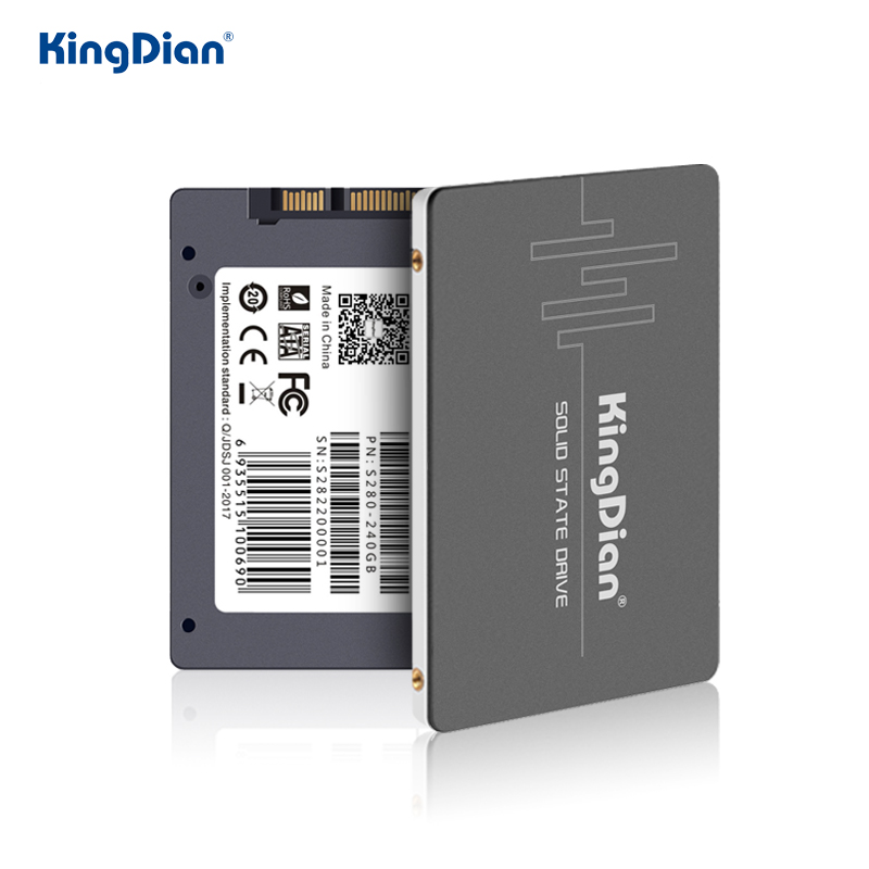 KingDian SSD 240 Gb 1tb 120gb 480gb 128gb 256gb 512gb 960gb SSD SATA Hdd 2.5 HD SSD Internal Solid State Hard Drive For Computer