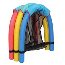 Swimming Floating Chair Pool Seats Pool Noodle Chair Pool Floating Bed Chair For Kids Adults 2016 new luxury comfort deck chair water floating raft blue adults pool float outdoor furniture sofa swimming board luchtmatras