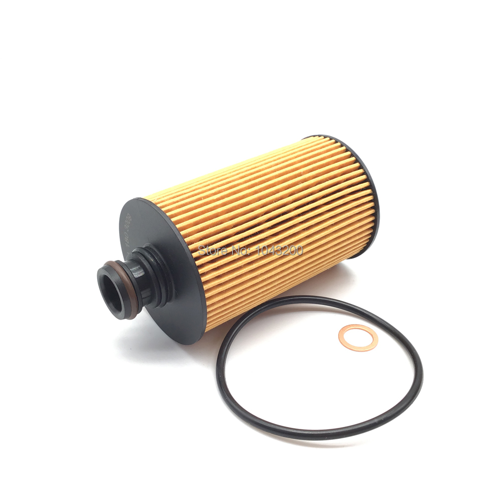 For Ssangyong Actyon Sports I II Korando Rexton W Rodius 2.0 - 2.2 Diesel Engine Oil Filter 6711803009, 6721803009, 6711840125 image