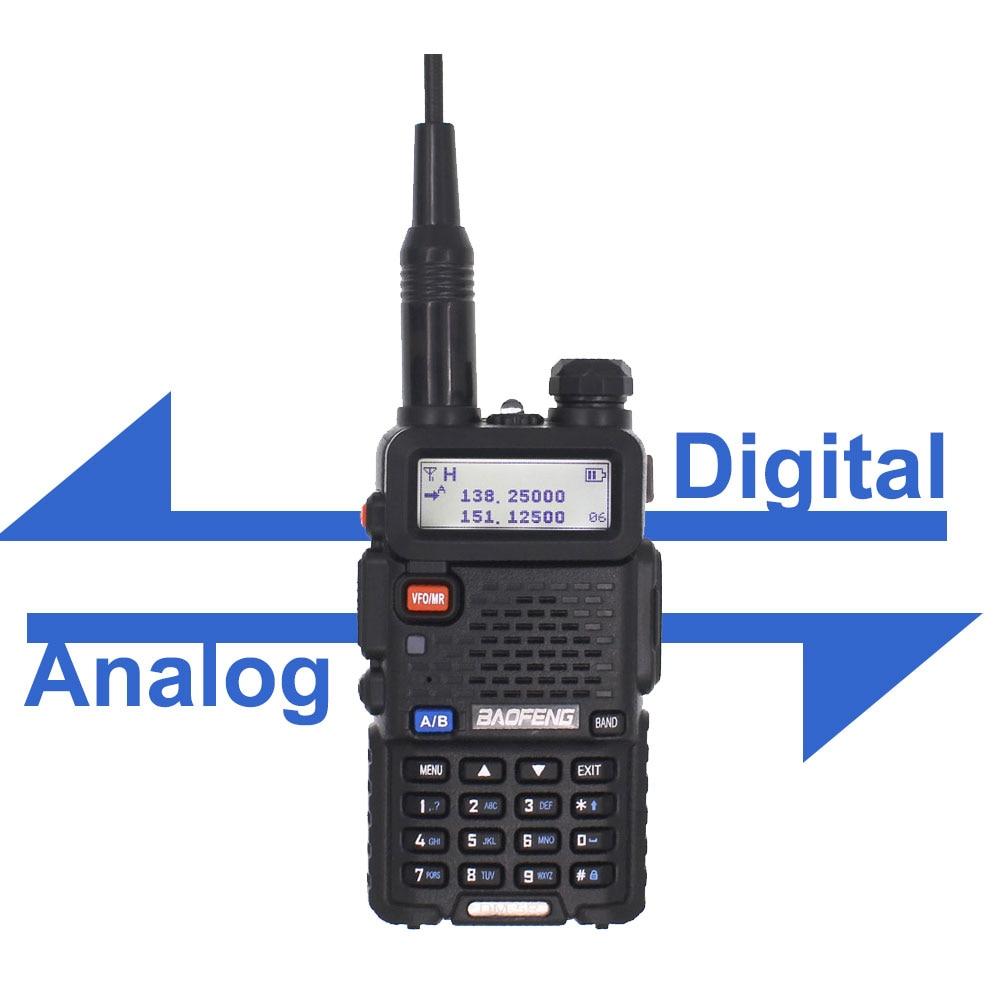 Baofeng DM-5R PLUS TierI TierII Tier2 Digital Walkie Talkie Repeater DMR Two-way VHF / UHF Radio Dual Band DM5R Radio PLUS
