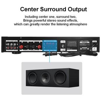 Усилитель мощности SUNBUCK AV-628BT, Количество каналов: 5 (4.1), Bluetooth 4