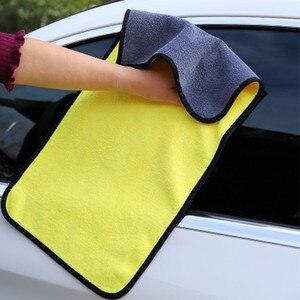 Image 5 - 3/5/10 sztuk 600GSM myjnia samochodowa ręcznik z mikrofibry samochód ściereczki do czyszczenia osuszania do pielęgnacji lakieru tkaniny Detailing ręcznik do mycia samochodu czyszczenia narzędzi
