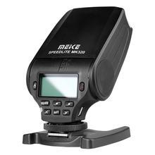 Meike вспышки mk320 f Камера флэш ttl мини памяти для цифровой