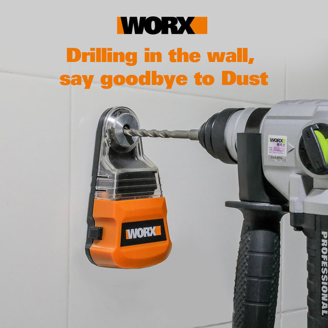 Worx dust box Collector for Cordless drill electric hammer Screwdriver WA1601 Dust removal Universal for diameter less than 10mm 2