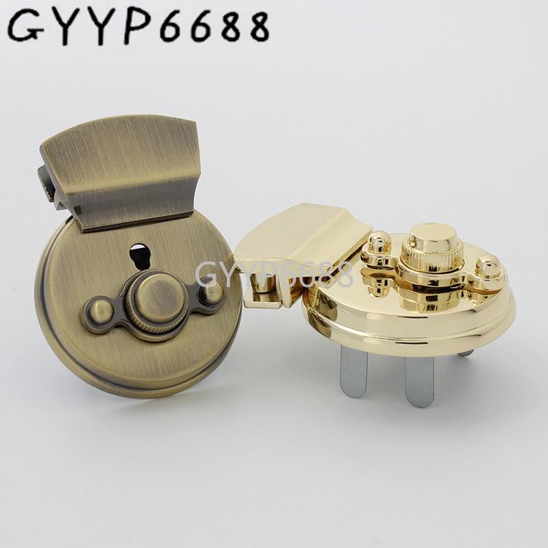 1-10-20pcs 5 colors 72*40mm Big turn lock standard for bolsas bag twist lock luggage closured locks