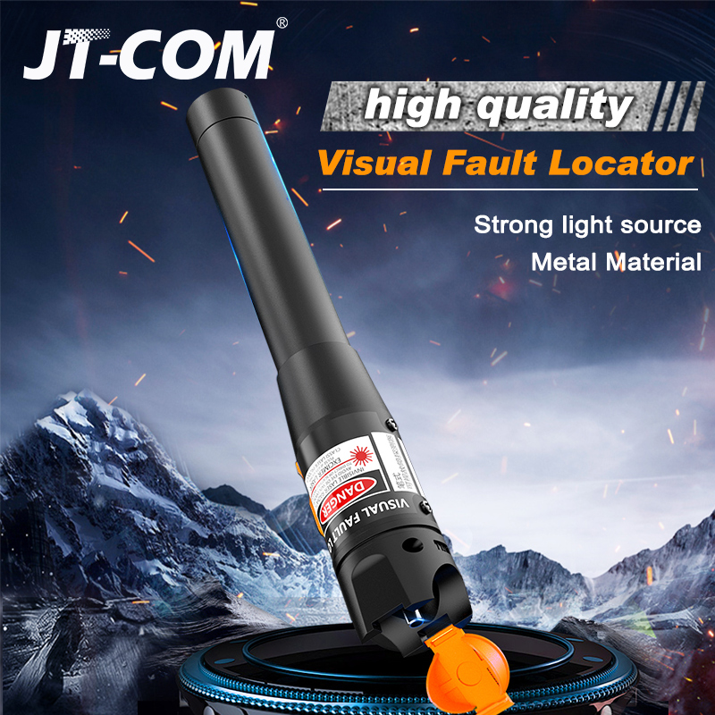 10mW Visual Fault Locator 30mW/20mW/10mW/1mW Fiber Optic Cable Tester 5km 10km 30km VFL Free Shipping