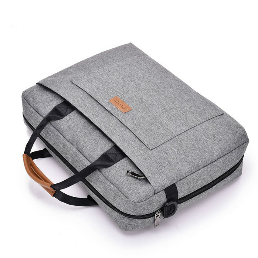 Canvas Business Briefcase Office Bags For Men Messenger Business Trip File Package Laptop Bag Breefcase Nylon Mens Bags For Work