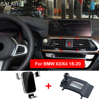 Holders for phone Stand Air Vent Mount Bracket For BMW X1 X2 X3 X4 X5 X6 X7 G01 G02 F48 F39 accessories for mobile phone suppor image