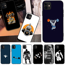 Bodybuilding Gym Fitness Cover Black Soft Shell Phone Case For iPhone 5C 6 6S 7 8 plus X XS XR XS MAX 11 11 pro 11 Pro Max offeier canyon view cover black soft shell phone case for iphone 5c 6 6s 7 8 plus x xs xr xs max 11 11 pro 11 pro max