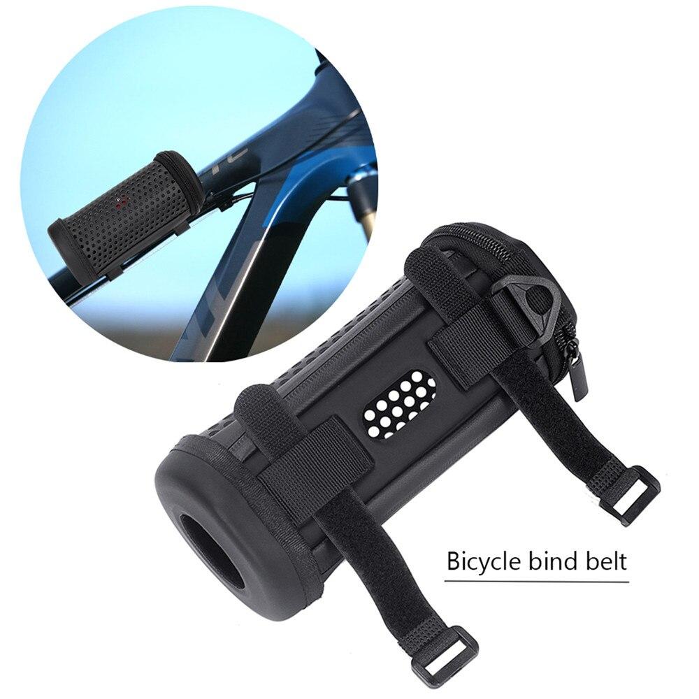 Полый дизайн Дорожный Чехол для JBL Flip 5 Bluetooth колонки с портативным ремнем два велосипеда двойной ремень и карабин