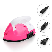 Mini Dry Electric Iron Hot Fix Rhinestone DIY Craft Bottom Dust-resistant Water Resistance for DIY Making