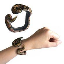 Novelty Toys Bracelet Horror Simulation-Snake Cobra Joke Prank Gifts Scary Fake Snake