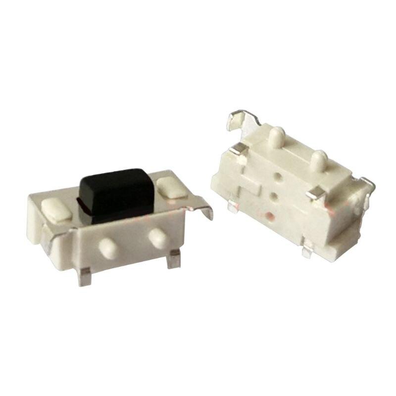 100 шт микро тактовый сенсорный выключатель 3*6*35 smd для mp3