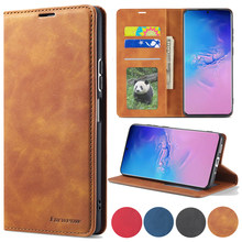 Leather Case For Samsung Galaxy S21 S20 FE Ultra S10 S9 S8 Plus S7 Edge Galaxy Note 10 Pro Note 20 Ultra Lite A81 91 Phone Cover