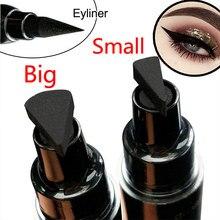 Duży/mały Eyeliner Stamp kosmetyki płynny wodoodporny Eyeliner Pen Eyeliners z markerem strzałki wzornik wkładki ołówek do oczu