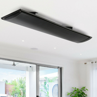 Calentador infrarrojo de 1800W para exteriores, calefactor para jardín, arte ecológico, invierno, novedad