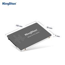 KingDian 2,5 ''HD SSD 128 ГБ 256 ГБ 512 ГБ 120 ГБ 240 480 1 ТБ 2 ТБ SATA SATA3 Внутренний твердотельный накопитель компьютеров