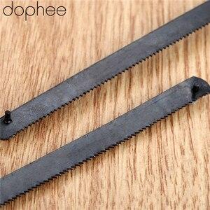 Image 4 - Dophee lame de scie manuelle, pour Mini Serra, 150mm, 6 pouces, en acier inoxydable, 10 pièces
