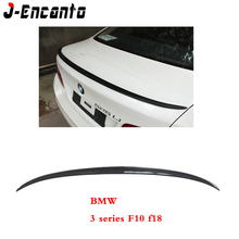 For BMW F30 F35 3 series 2012-2018 F10 F18 5 2010-2016 Spoiler Carbon Fiber Material M style wings