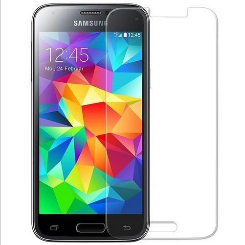 For SM-<font><b>G800F</b></font> G800H G800M G800Y Film 9H Round Edge High Definition Screen protector Tempered Glass For <font><b>Samsung</b></font> Galaxy S5 Mini image