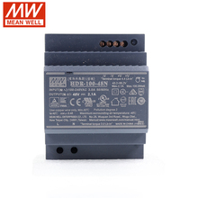 MEAN WELL HDR-100-48N 100 Вт 48 в DIN Реле переключения питания 110 В/220 В переменного тока до 48 В постоянного тока 2.1A тонкая ступенчатая форма изолированный блок питания