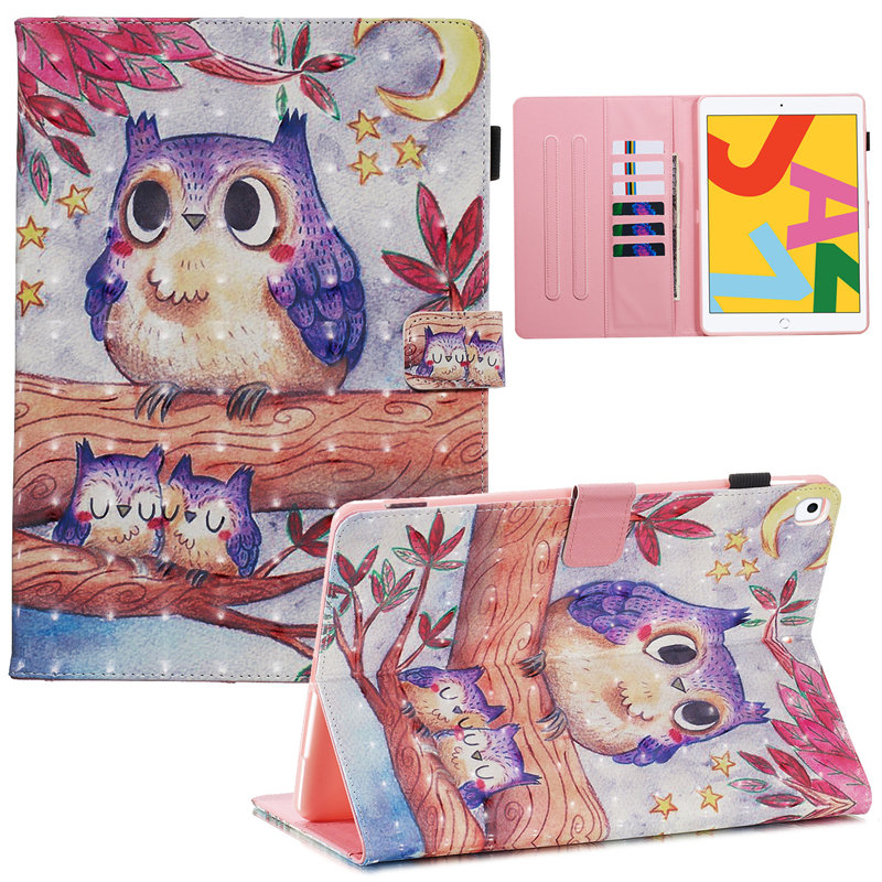Cover 2019 A2200 iPad Funda Generation 10.2 Case iPad for Smart For Skin 7th Apple A2232