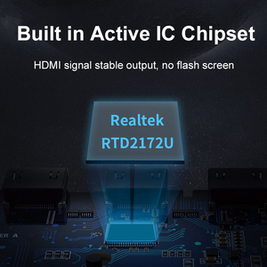 Image 4 - كابل USB C إلى HDMI محول 4K/60Hz مطلية بالذهب الألومنيوم قذيفة نوع C إلى HDMI محول لماك بوك اير Matebook شاومي C316