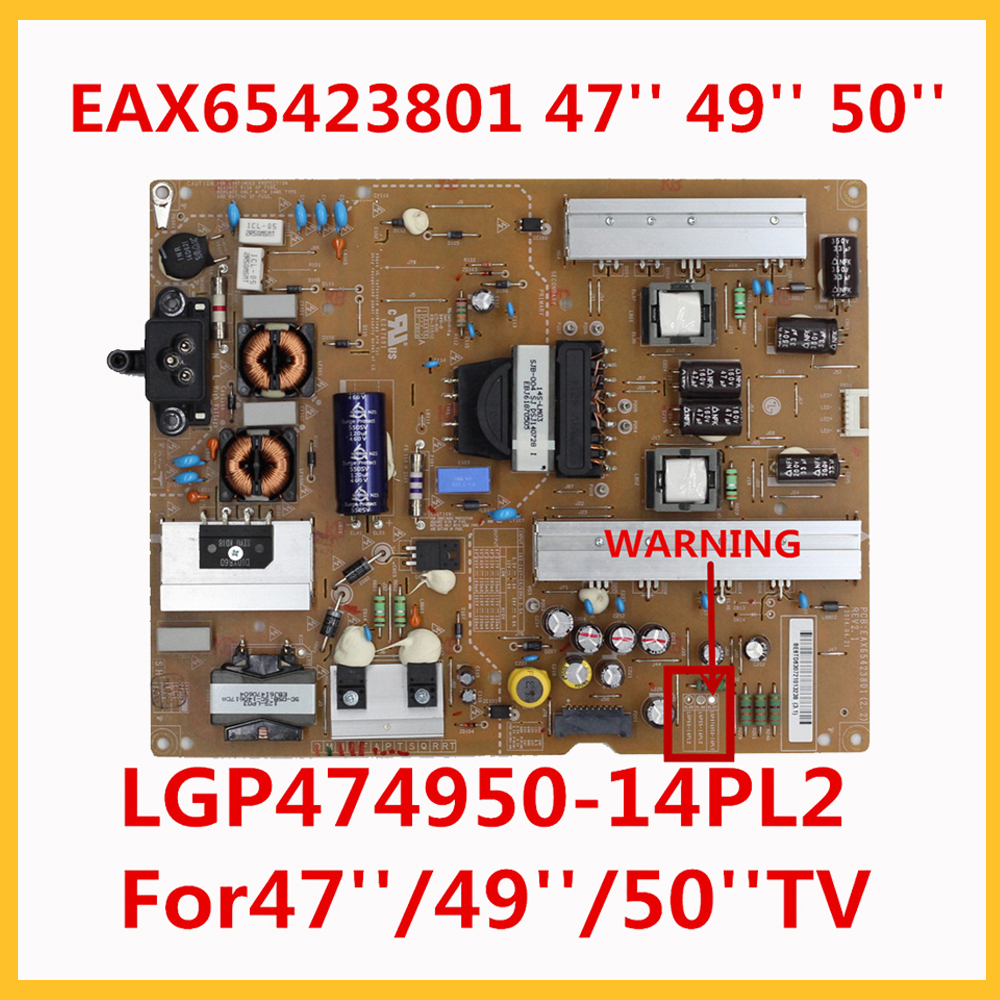 Power Supply EAX65423801 LGP474950 14PL2 For 47'' 49'' 50'' TV TV Power Support Board tv inch professional tv parts power source Circuits  - AliExpress