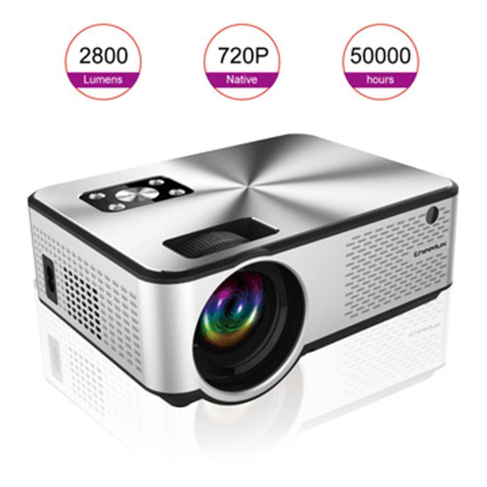 UNIC 2020 Neueste Android Projektor 1280*720P Unterstützung Videos Über HDMI Home Cinema Film Video Projektor 4,3 Zoll