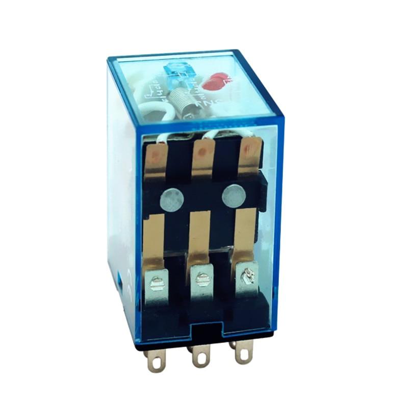 My3nj relè (5 pz/lotto) HH53P mini rele 12v dc ac 24v 36v 48v 110v 220v DC/AC 5A mini elettromagneti 3pdt plug-in relè
