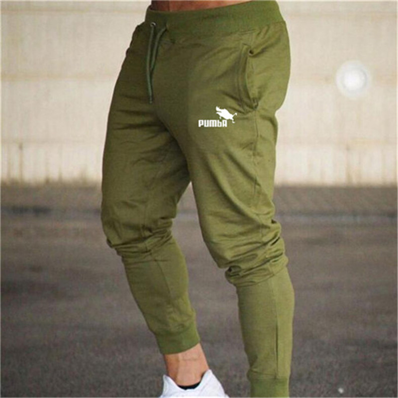 New Men's Sweatpants Fitness Joggers Spring Sports Pants Male Side Stripe High Street Hip Long Trousers Harem Pants Sweatpant