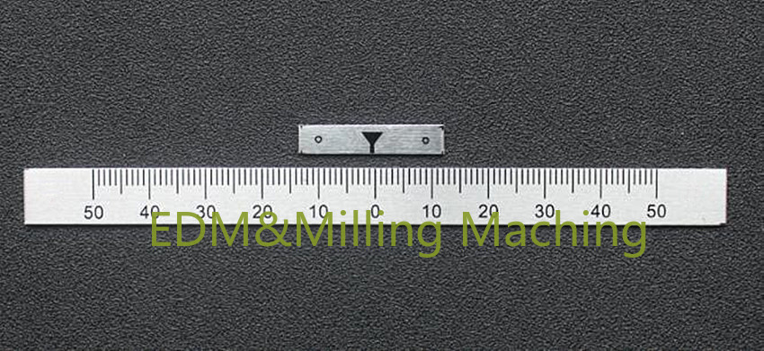 CNC Bridgeport Milling Machine Part 0-50 Degree Angle Plate Scale Ruler With Pointer
