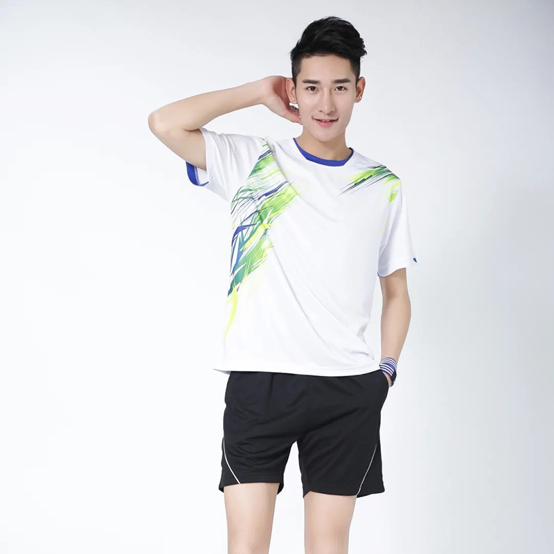 Badminton Clothing Casual Sports Clothing Set Men And Women Celebrity Style Game Training Uniforms Customizable Short Sleeve Bad