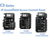 Kontrola dostępu do drzwi płyta panelowa ZK C3 100/200/400 TCP IP Wiegand 26 dla rozwiązań bezpieczeństwa System kontroli dostępu 30000 użytkowników w Zestawy do kontroli dostępu od Bezpieczeństwo i ochrona na