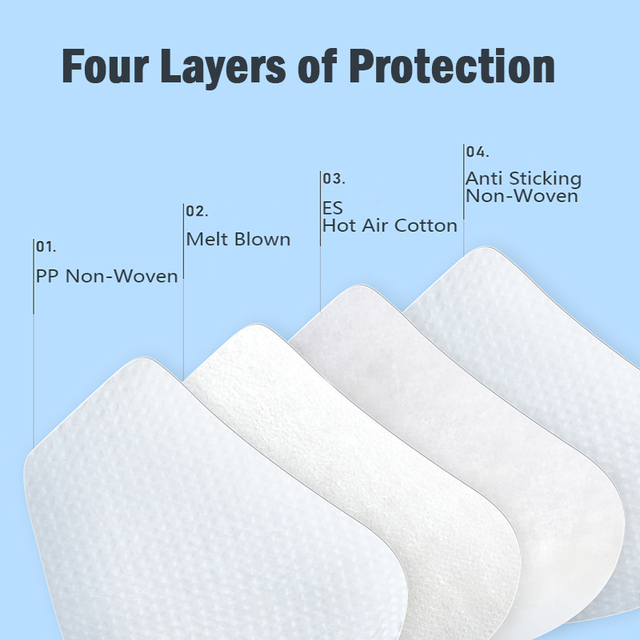 10PCS KN95 4 Layers Mask Antivirus Flu Anti Infection KN95 Masks Particulate Respirator PM2.5 Protective Safety 2
