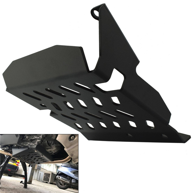 Lower Engine Base Chassis Guard Skid Plate Panel Belly Pan Protector Cover Black For HONDA NC 750 X 750X NC750X 2018 2019 2020