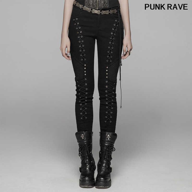 مثقب حرف متحرك خراب Pantalones Rockeros Mujer Onthegowithzeppi Com