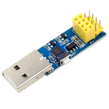 цена на Usb To Esp8266 Esp-01 Esp-01S Serial Wifi Bluetooth Module Adapter Download Debug Link Switch For Arduino Ide Development Module