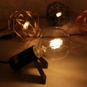 Image 3 - LATTUSO Edison Led żarówka z żarnikiem G80 G95 G125 duża globalna żarówka 4W 6W 8W żarówka z żarnikiem E27 szkło bezbarwne lampa wewnętrzna AC220V