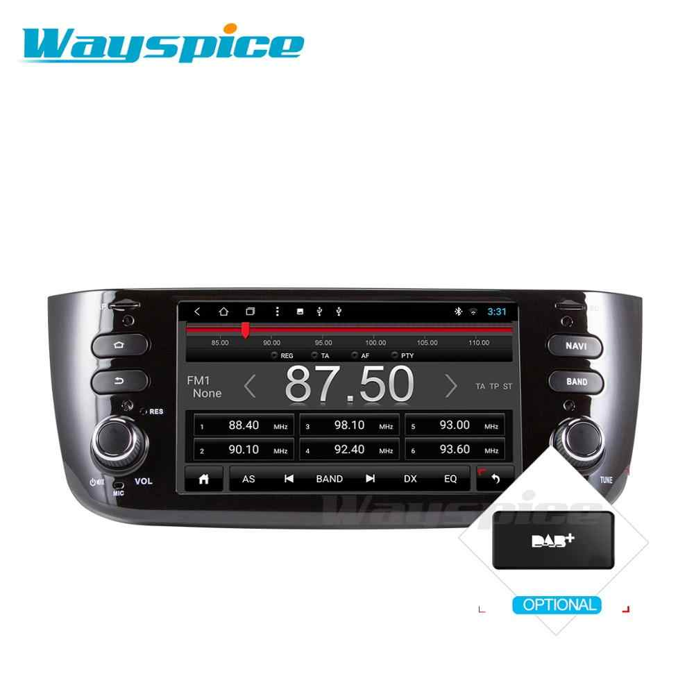 Wayspice アンドロイド 9.0 ための車の dvd/リネア/プント 2012 2013 2014 2015 車のマルチメディアプレーヤー