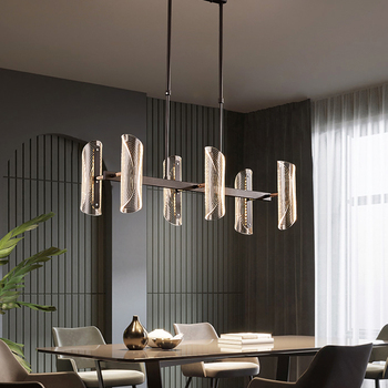 modern led chandelier lighting for living room bedroom restaurant kitchen pendant chandeliers Black indoor suspension lamps modern black chandelier lighting for living room bedroom wedding decoration chandeliers lamp hanging suspension modern lighting