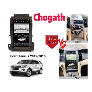 Chogath 13.1 inch  car multimedia player andrioid 6.0 car gps navigation  for Ford Taurus 2012-2016